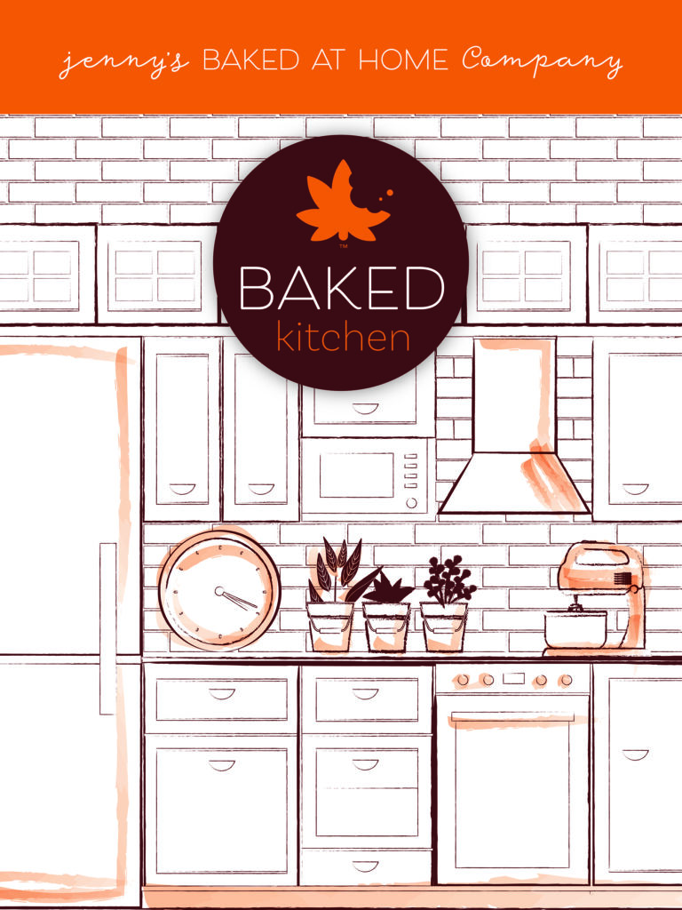 Jenny's Baked at Home Booth Design
